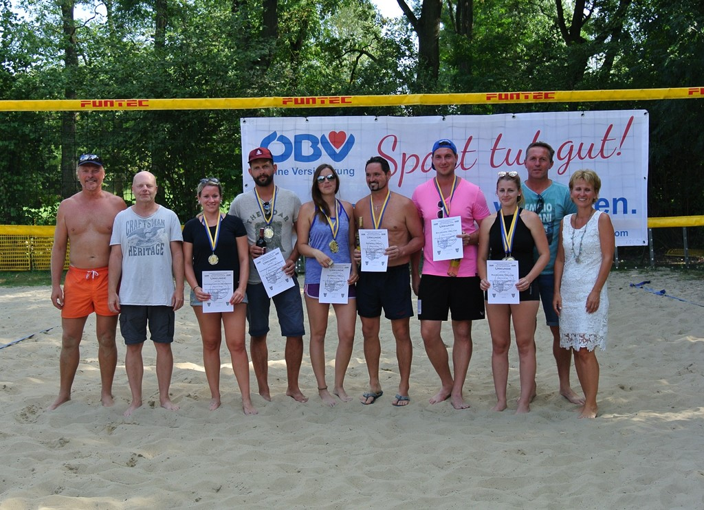 Beachvolleyball LM 2018-Sieger Mixed